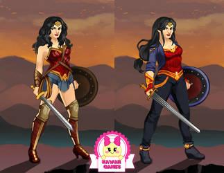 Amazon Warrior Wonder Woman Dress Up by heglys