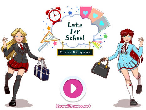 Late for School Dress Up Game