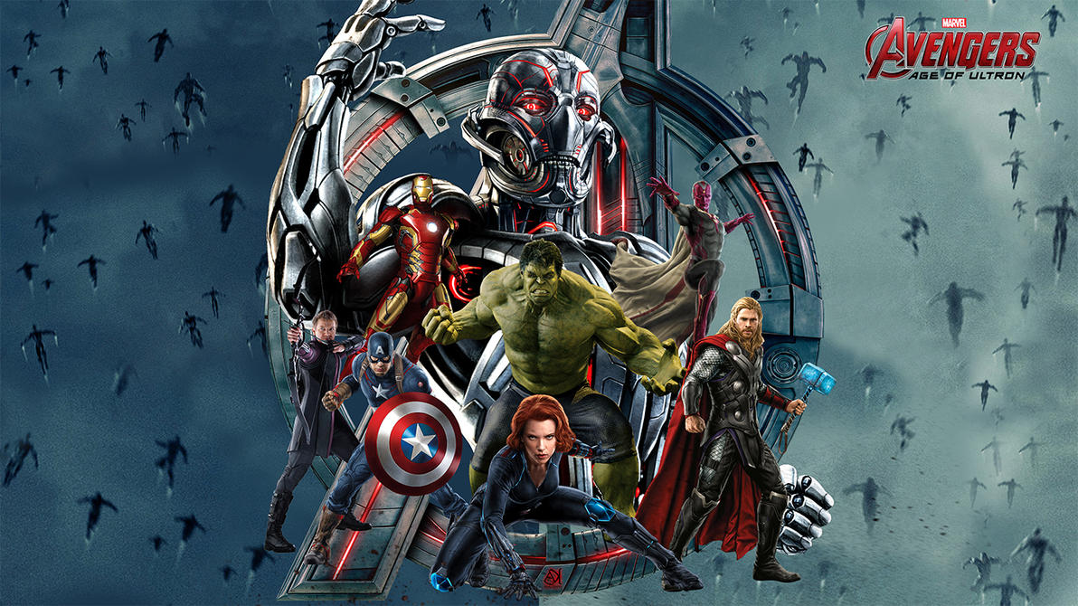 Avengers Age Of Ultron By Iloegbunam On Deviantart: Avengers Age Of Ultron By ArDaKrnL On DeviantArt