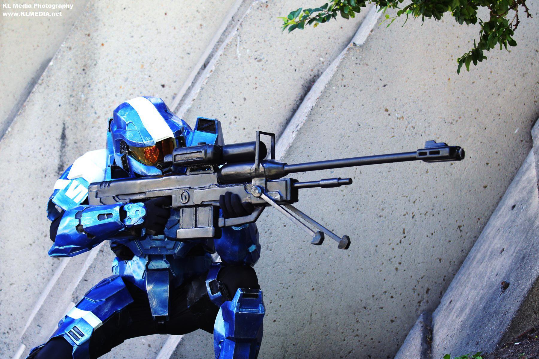 spartan sniper by paradoxdj