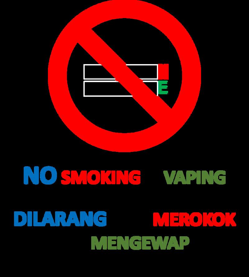 No Smoking/Vaping sign by Semantot