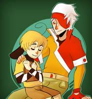 Mazu and Iro by CrescentMarionette