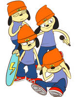Parappa the Rapper by CrescentMarionette
