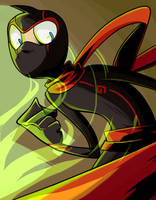 The Ninjaaa by CrescentMarionette