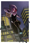 Gwen Stacy is Spider-Woman - Color