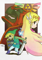 The Legend Of Zelda by PaperMoon92