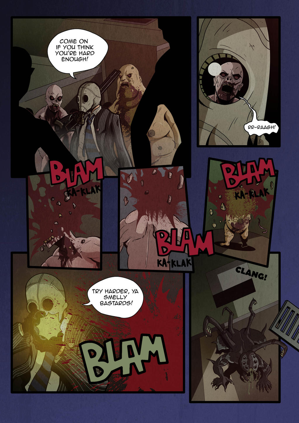 ... Killing Floor   Mr. Foster Comes To Town   Page 2 By PaperMoon92