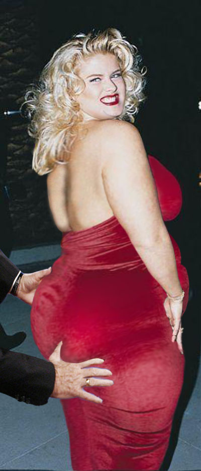 Possible Anna nicole smith naked booty consider, that