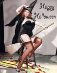 Halloween - Gil Elvgren Christina