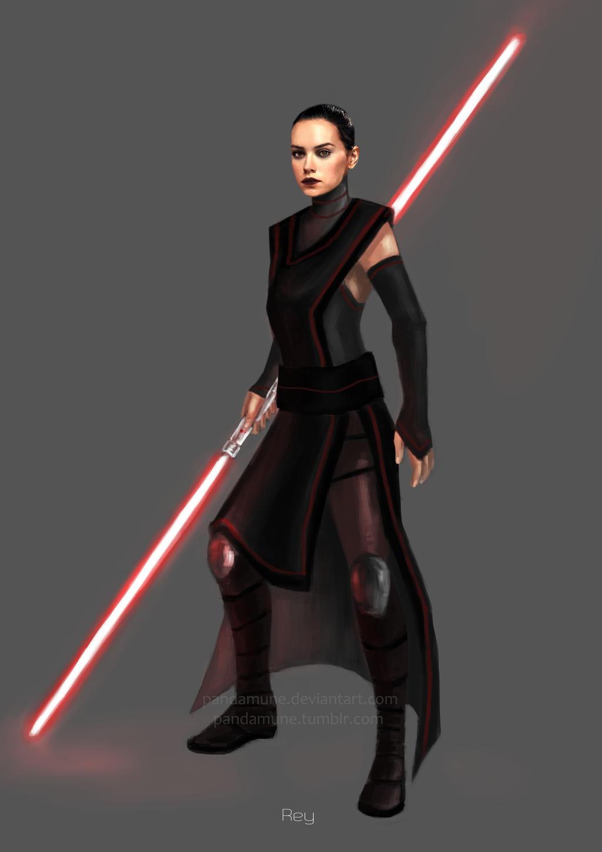 Dark side Rey by pandamune on DeviantArt