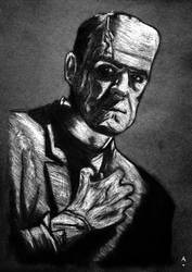 Frankenstein's Monster by amazinglostmc