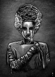 Bride of Frankenstein by amazinglostmc