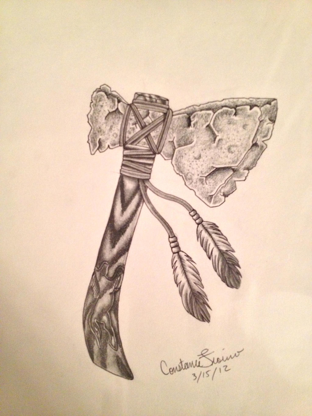 tomahawk tattoo sketches pictures to pin on pinterest tattooskid. Black Bedroom Furniture Sets. Home Design Ideas