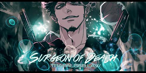Trafalgar Law by pinkbear0711