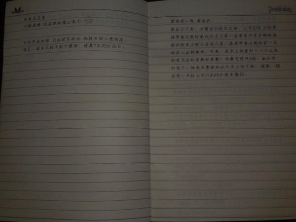 death note pages by Lawliet-female on DeviantArt