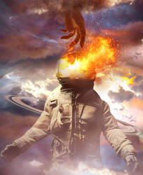 Space man by Morteze