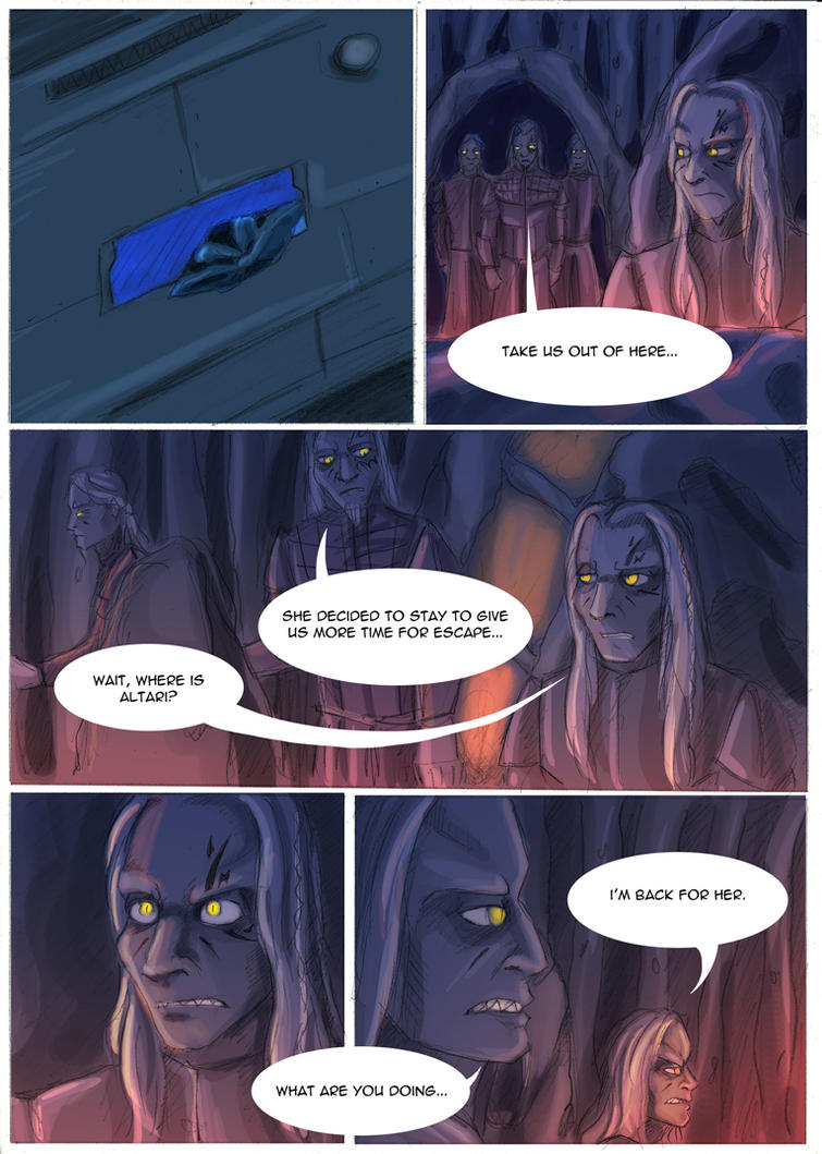 Crossing paths p. 88 by neron1987
