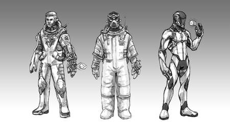 Space Suit Thumbnail by kenji893