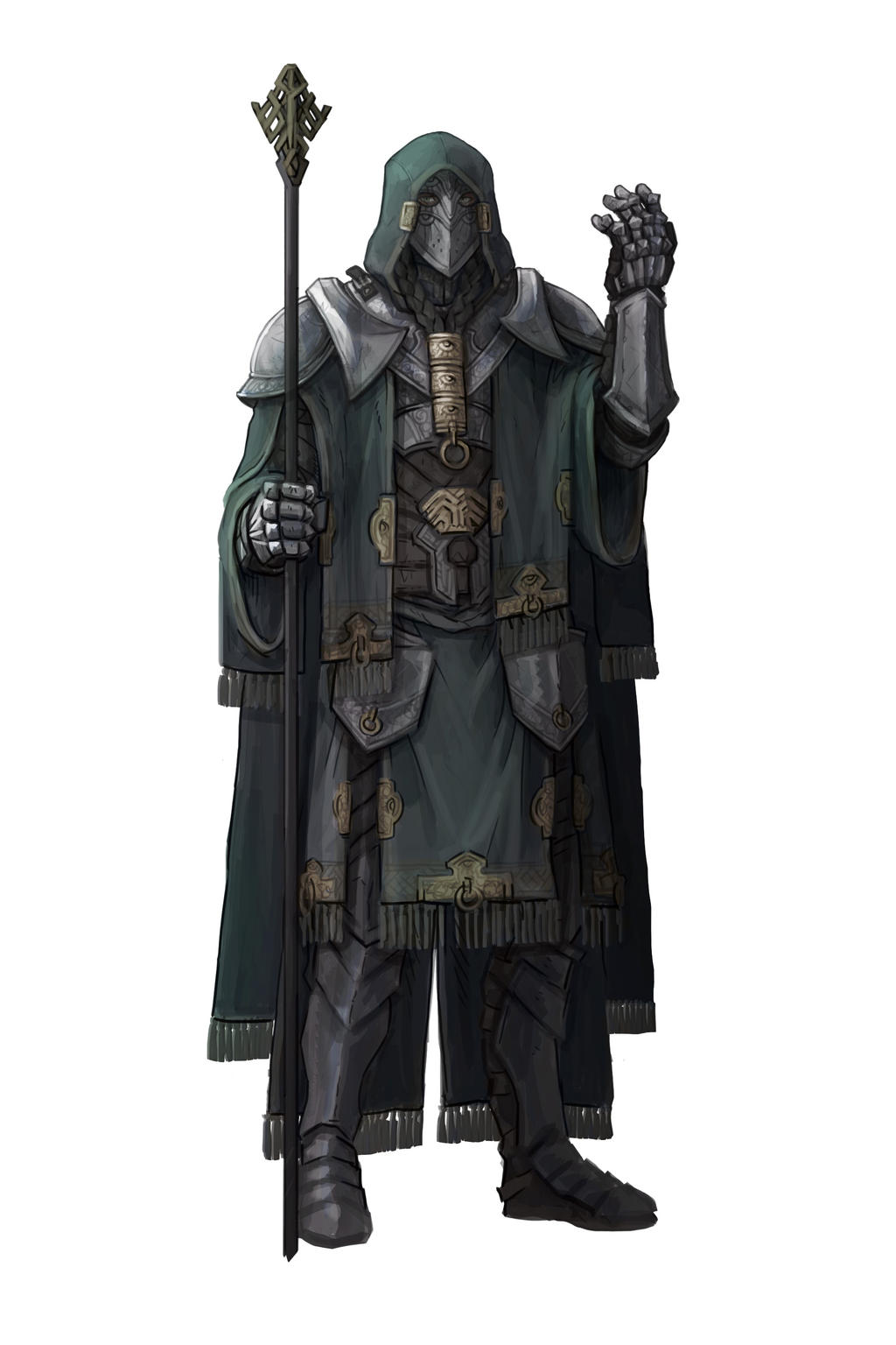 Character Concept art: Mage