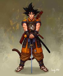 Samurai Son Goku by kenji893