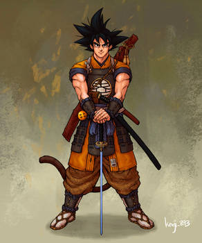 Samurai Son Goku