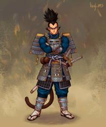 Samurai Vegeta by kenji893