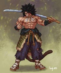 Samurai Broly by kenji893