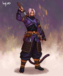 Samurai Trunks by kenji893