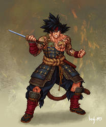 Samurai Bardock by kenji893