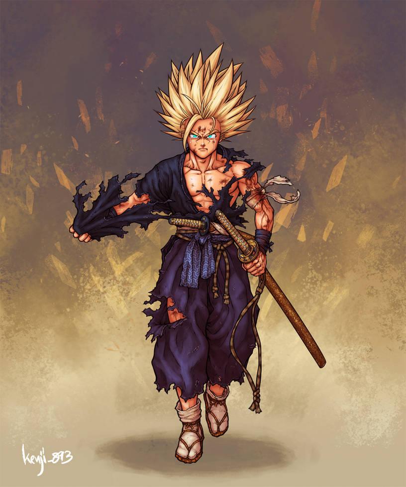 Samurai Son Gohan by kenji893