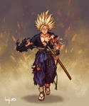 Samurai Son Gohan