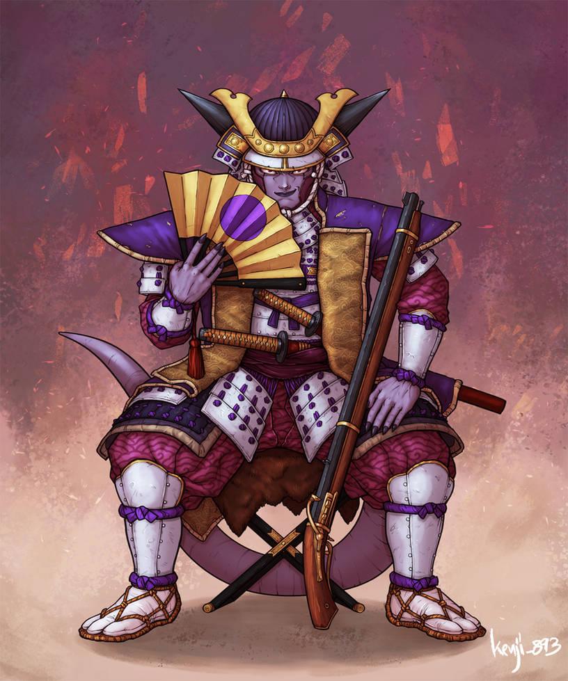 Samurai Frieza by kenji893