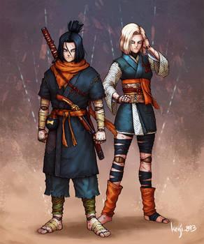 Samurai Androids