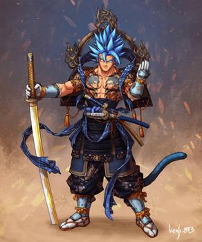 Samurai Vegito Blue