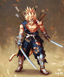 Samurai Majin Vegeta