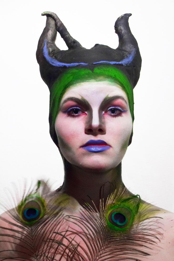 Peacock Forrest Goddess 3 by lisart02