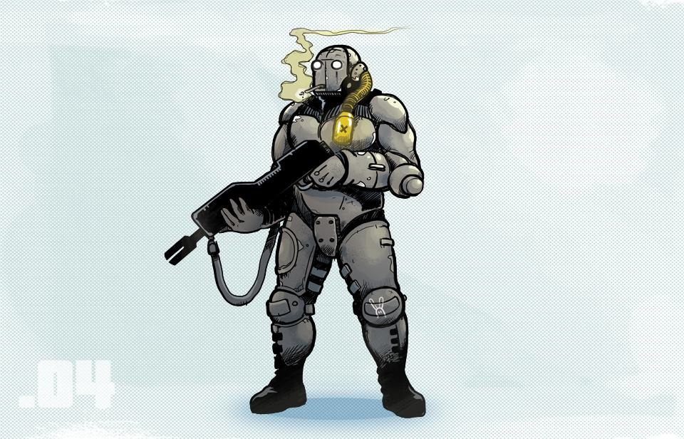 Characters factory - soldat by szarak