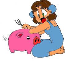 Haru and Piggy 2