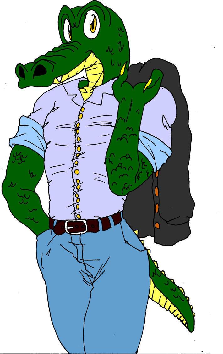 Gator Man by Miki2983