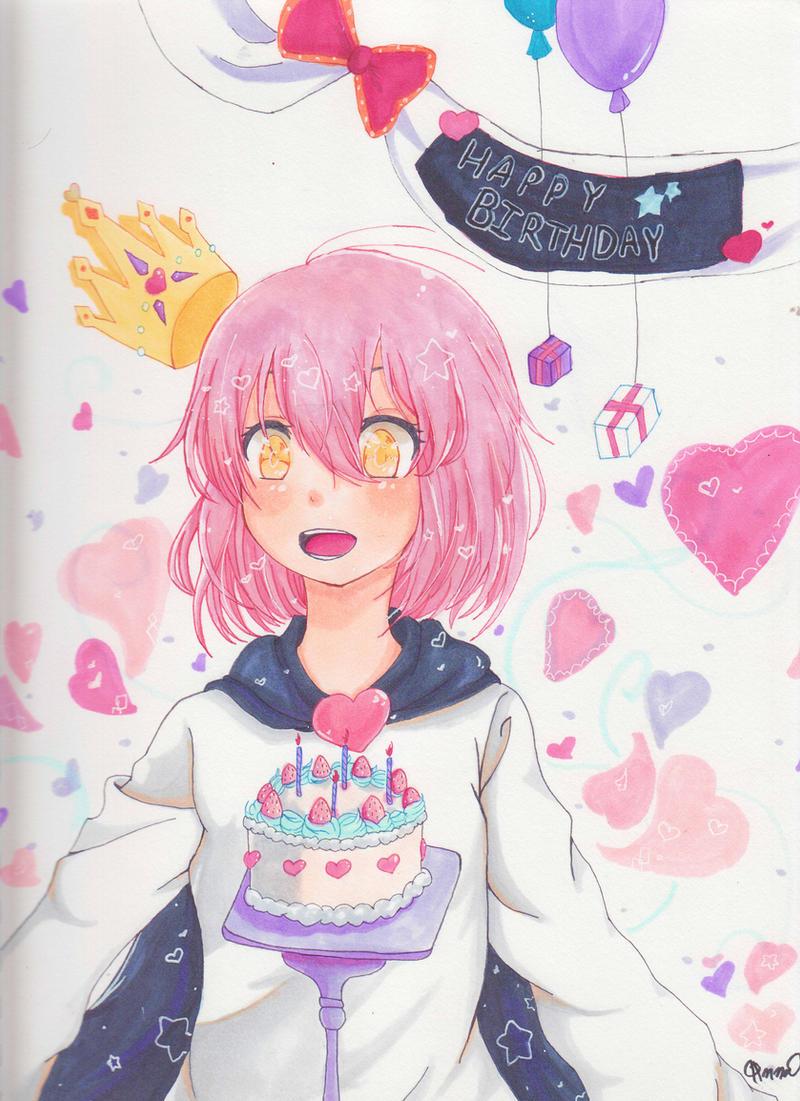 Happy Birthday! :D by Aikihaku