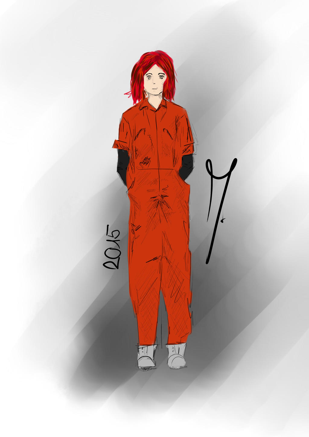 Abby from Misfits by OrionLine