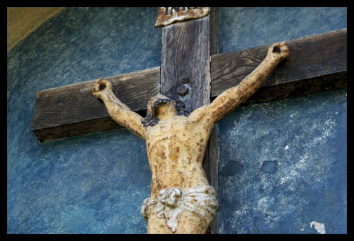 Jezus figure.