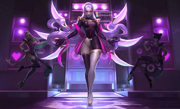 Heart Breaker Irelia (Popstar fan concept Splash)