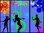 Vector Dance Wallpaper