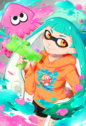 SPLATOON by jollyrose