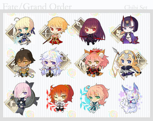 Fate/Grand Order Chibi Set