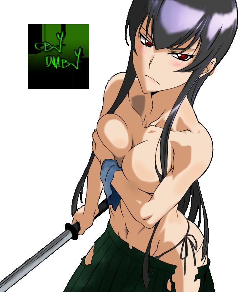 Moje new kresby :D Saeko_busujima_dark_version_by_diabyx-d4plmb8