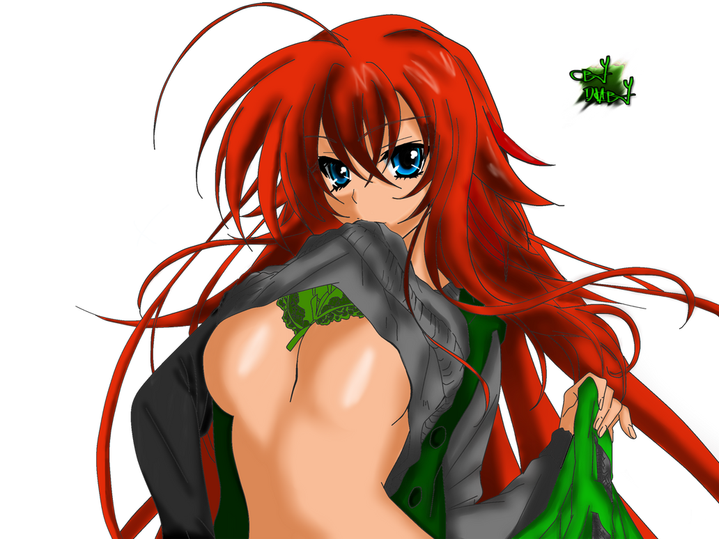 Moje new kresby :D Rias_gremory_coloring_by_diabyx-d4ppsgw