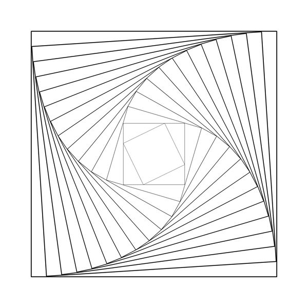 square spiral by geo