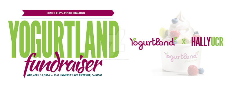 Yogurtland Fundraiser April 2014